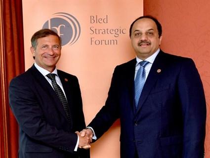 Slovenian Deputy Premier Meets Foreign Minister