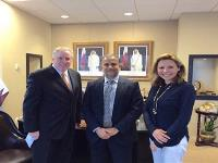 "Qatar's Consulate in Houston Presents USD50,000 to Support ""TEACH"" Program"