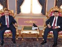 Governor of Istanbul Meets Qatari Consul General