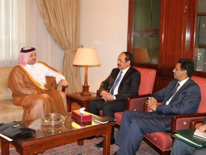 HE Foreign Minister Meets Mauritanian Counterpart