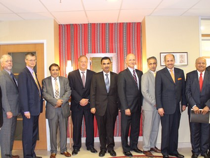 Qatar Embassy in Ottawa Hosts Meeting of GCC Embassies with Canadian Government
