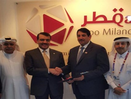 Foreign Minister's Assistant Visits Qatar's Pavilion at Expo Milano 2015