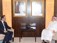 HE Foreign Minister Meets Head of Syrian National Coalition