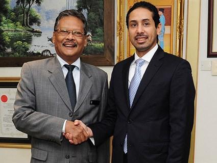 Malaysian Attorney General Meets Qatar's Ambassador