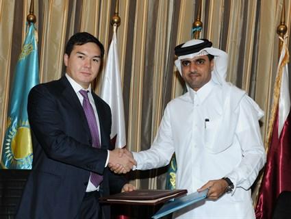 توقيع مذكرة تفاهم بين صندوق قطر للتنمية ومدينة أستانا في كازاخستان
