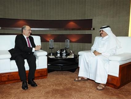 مساعد وزير الخارجية للشؤون الخارجية يجتمع مع نائب وزير خارجية المكسيك