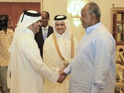 الرئيس الجيبوتي يستقبل سفير دولة قطر