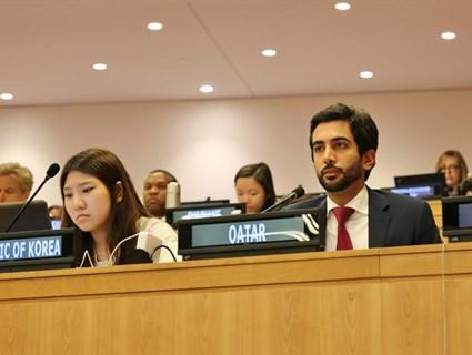دولة قطر تؤكد أهمية تمتع الشعب الفلسطيني بكامل حقوقه وسيادته على أرضه بما فيها القدس الشرقية
