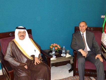 Algerian Culture Minister Meets Qatari Ambassador