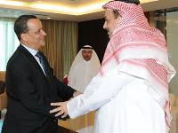 HE Foreign Minister Meets UN Special Envoy to Yemen