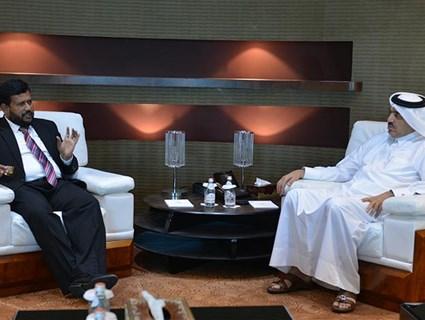 مساعد وزير الخارجية للشؤون الخارجية يجتمع مع وزير الصناعة والتجارة السريلانكي ونائب وزير خارجية الأرجنتين