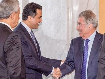 الرئيس النمساوي يلتقي وفد المجموعة العربية بفيينا برئاسة سفير قطر