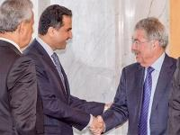 Austrian President Meets Delegation of Arab Group Led by Qatari Ambassador