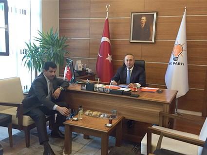 Turkish Foreign Minister Meets Qatari Ambassador