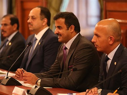 Qatar , United Mexican States Hold Official Talks