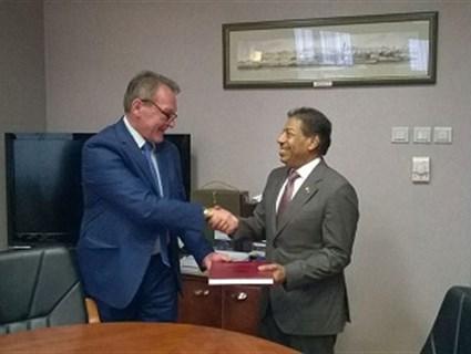 رئيس المجلس الأعلى للقضاء في صربيا يستقبل سفير قطر