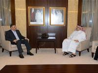 HE Foreign Minister Meets Syrian Opposition Figure