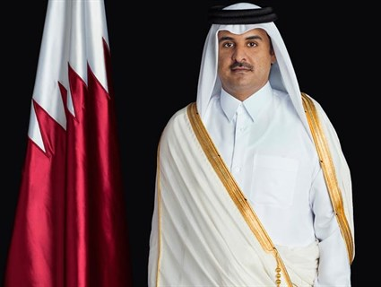 HH the Emir Receives Phone Call from Canada's Prime Minister