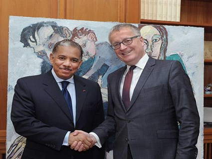 German Federal Foreign Office Secretary Meets Qatar's Ambassador