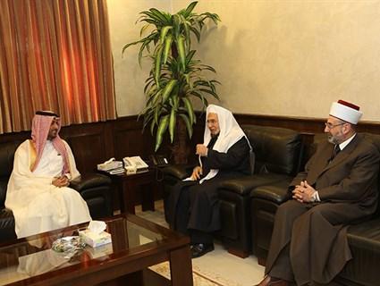 Jordan's Chief of Staff, Chief Justice Meet Qatar's Ambassador