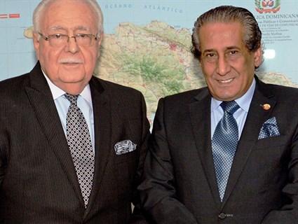 وزير الطاقة والمناجم بجمهورية الدومينيكان يستقبل سفير قطر