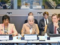 Qatar's Permanent Mission to UN Holds Meeting on War Crimes and Justice in Syria