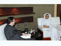 Assistant Foreign Minister for Foreign Affairs Meets Swiss Assistant State Secretary