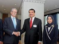 Qatar's Permanent Delegation at UN Hosts Reception Ceremony