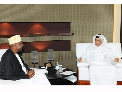 Minister of State for Foreign Affairs Meets Comoros Ambassador