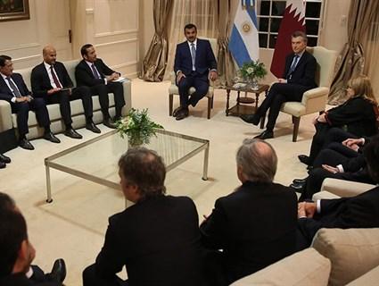 بيان مشترك بين دولة قطر وجمهورية الأرجنتين