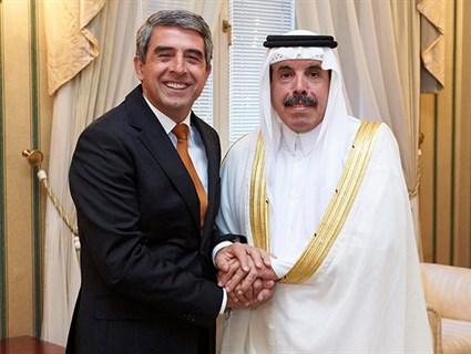 Bulgarian President Awards Qatari Ambassador Order of Merit