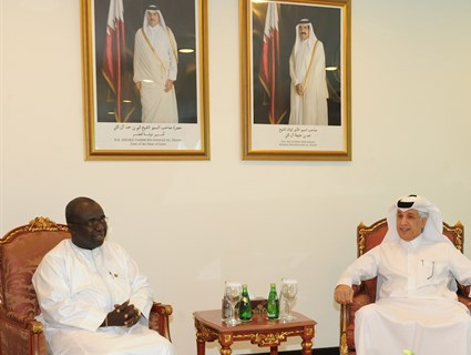 HH the Emir Receives Message From President of Guinea-Bissau