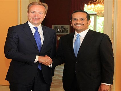 HE Foreign Minister Meets Norwegian Counterpart