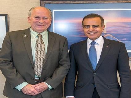 Governor of Alaska Meets Qatari Ambassador
