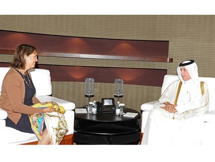 Minister of State for Foreign Affairs Receives Credentials Copy of Netherlands Ambassador