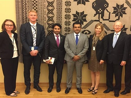 Officials from Qatar's and Norway's Ministry of Foreign Affairs Discuss Enhancing Cooperation