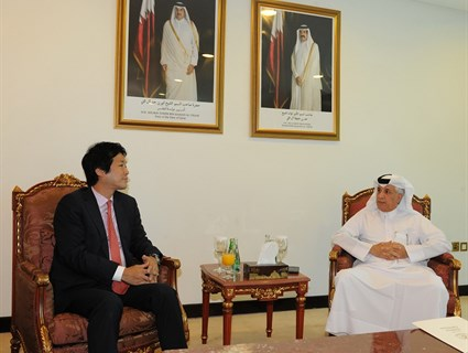 Minister of State for Foreign Affairs Meets Japanese Counterpart