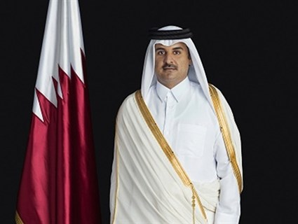 HH the Emir Sends Message to President of Colombia