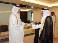 HE Foreign Minister Receives Copy of Credentials of Kuwait's Ambassador
