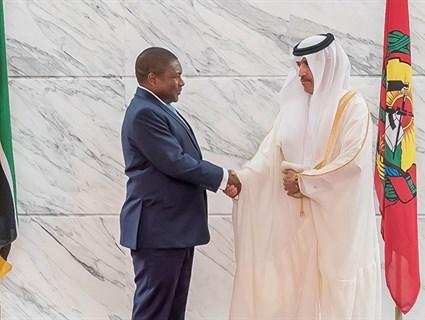 President of Mozambique Receives Credentials of Qatar's Ambassador